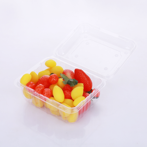 PET plastic clamshell packaging for fruit pack