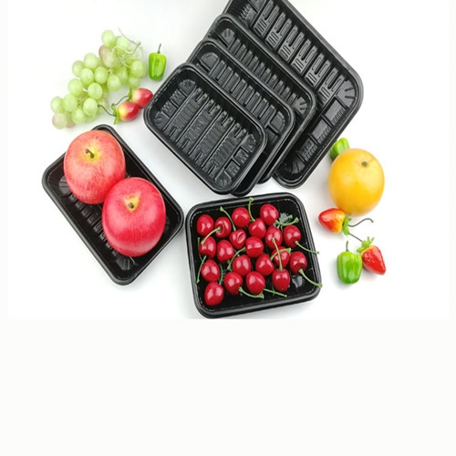 PET recycle fruit packaging blister tray
