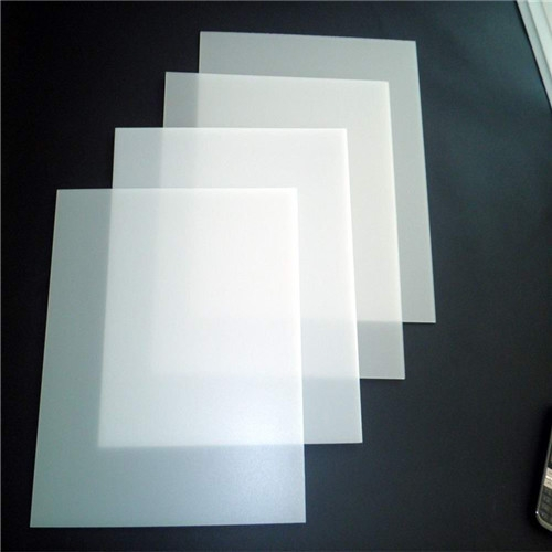 Matt white PET diffuser led sheet
