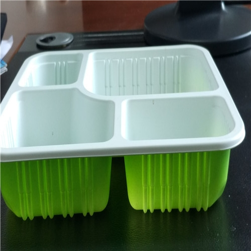 2 color Plastic HIPS PS Polystyrene Sheet for food packing