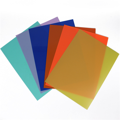 Colored PP polypropylene sheet