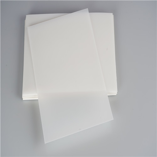 White Polypropylene Sheet