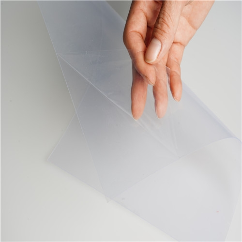 super clear transparent 400 micron pvc sheet