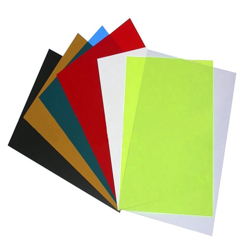 colored PVC Plastic Sheet for Cover