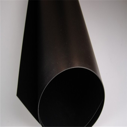Solid Plastic matte black pvc sheet for pack