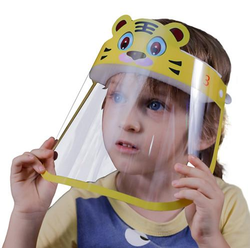 Anti-Fog Cartoon Protective PET plastic sheet for Children Face Shield